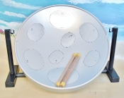 Just for Fun Series - Jumbie Jam Steel Drum Silver Table Top