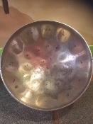 Pre-owned Blemish Steel Drum 23 inch diameter - Chrome Plated